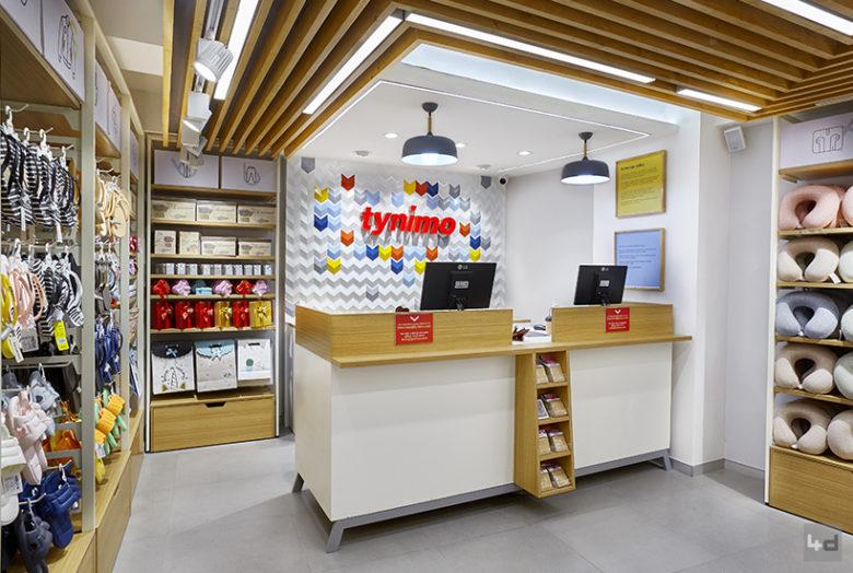 连锁设计 | 印度Tynimo精品店设计