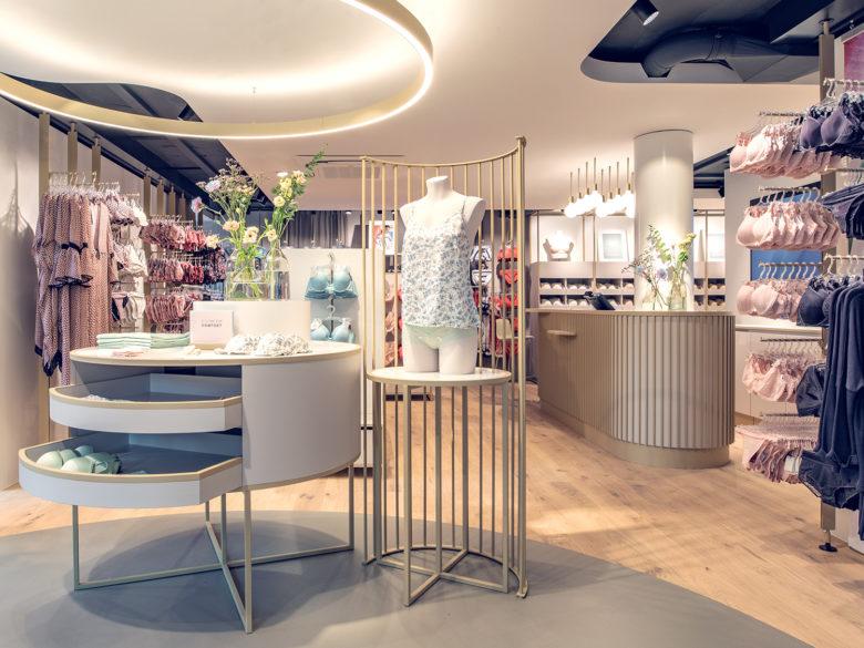 专卖店设计 | 瑞士Beldona内衣店设计
