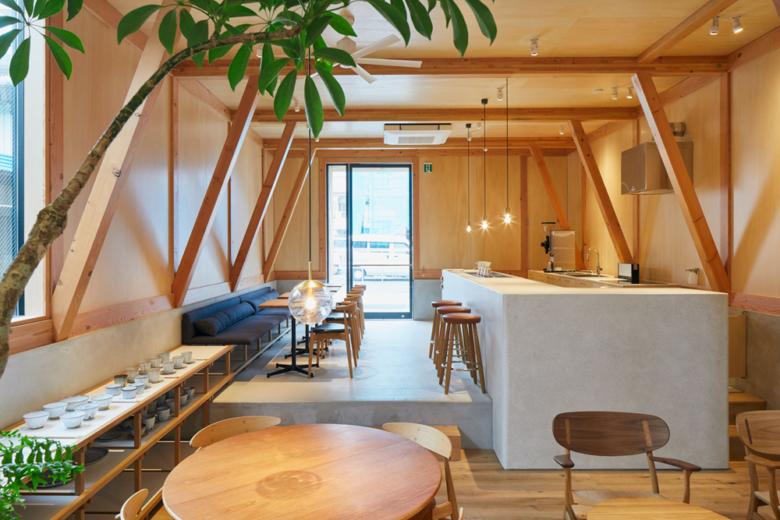 店面设计 | 日本IDUMI Cafe 咖啡店设计