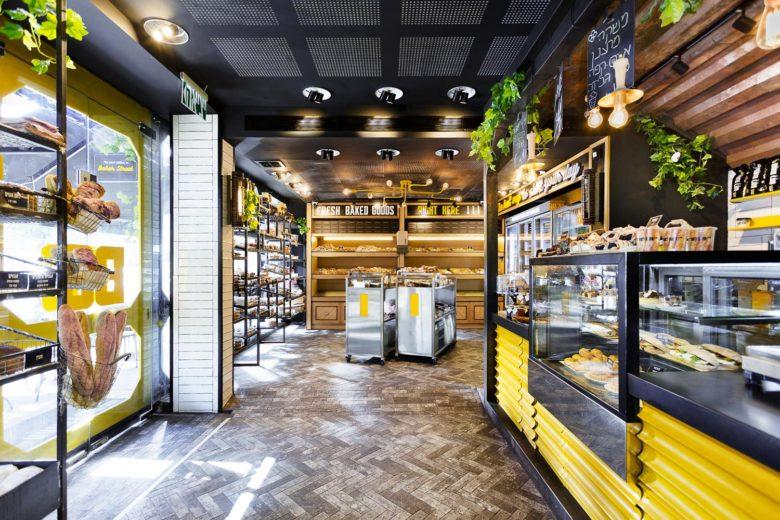 终端设计 | 以色列Ramat Gan面包店设计
