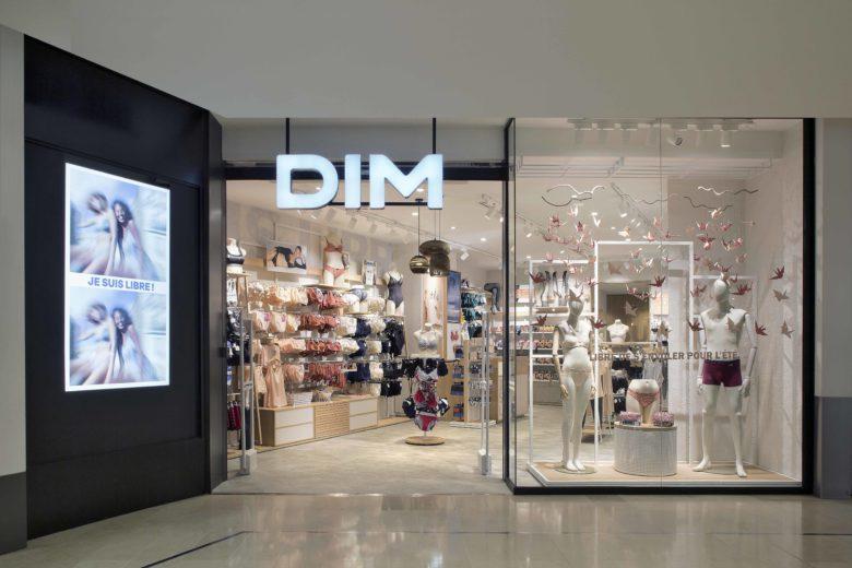 专卖店设计 | 内衣品牌Dim专卖店设计