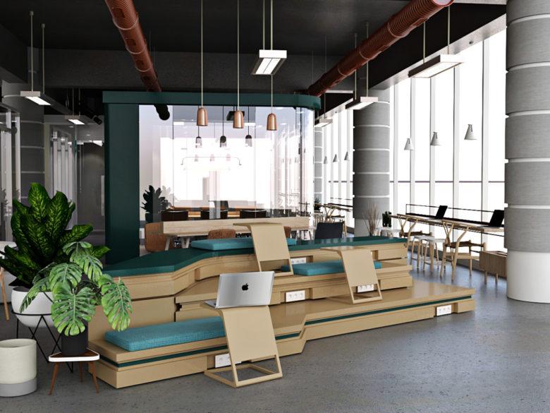 空间设计 | 印度尼西亚NIPAH办公室设计