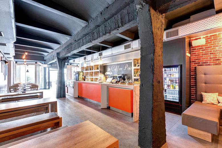 终端设计 | 咖啡面包集合店设计