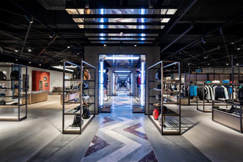 SI设计 | 英格兰Flannels服装店SI设计