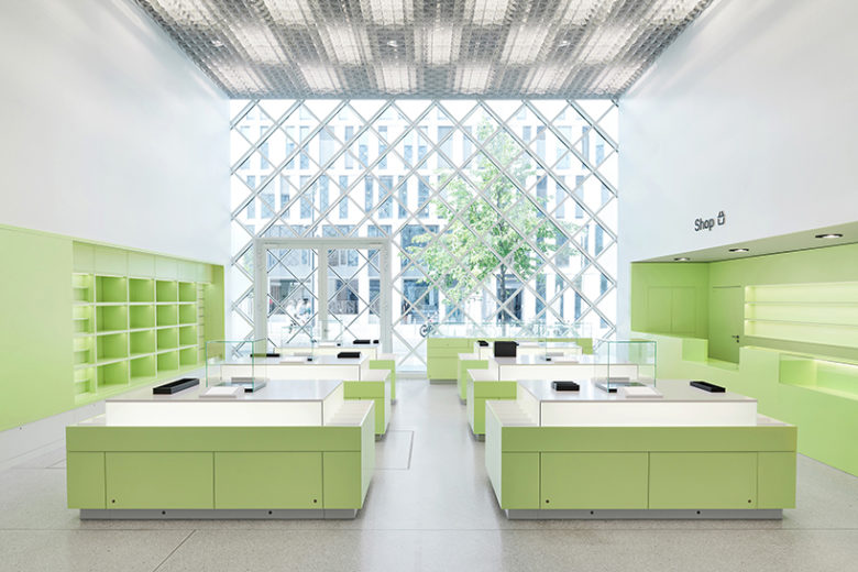 Museum Shop at Futrium Berlin by Coordination Design - Photo: Stefan Hoederath