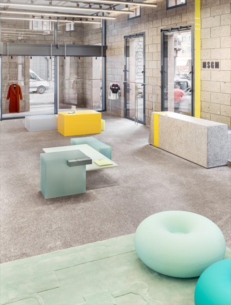 Architettura And Design msgm store by ml architettura