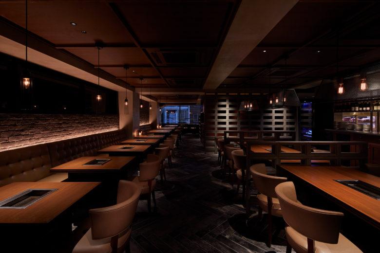 空间设计 | 东京USHIDOKI 烧烤店设计