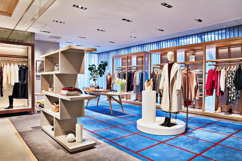 专卖店设计 | 日本Tomorrowland服装店设计