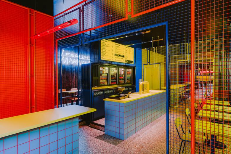 店面设计 | 波兰Biggy餐厅设计