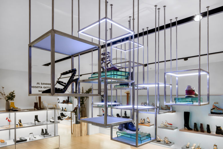 专卖店设计 | 伦敦Harvey Nichols女鞋专卖店设计