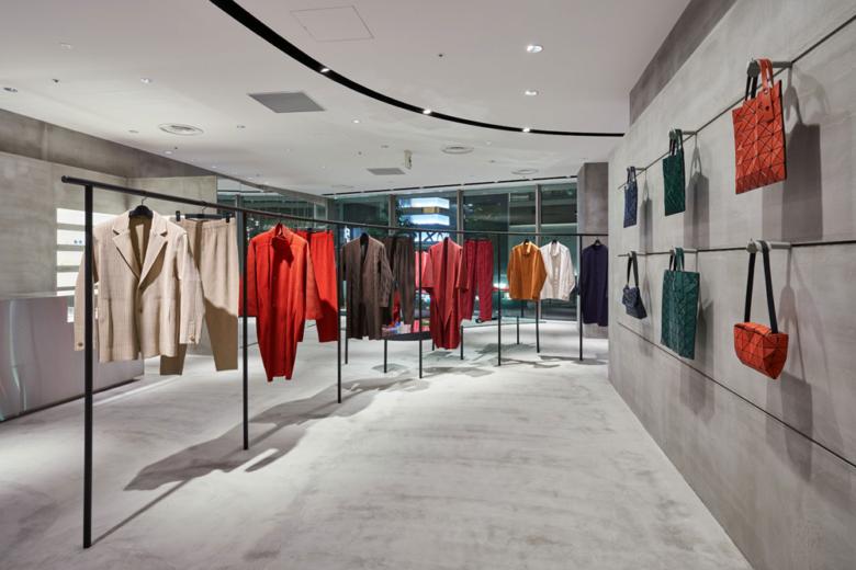 专卖店设计 | 日本涩谷ISSEY MIYAKE服装店设计