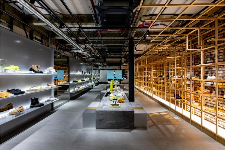 终端设计 | 巴黎both store鞋店设计
