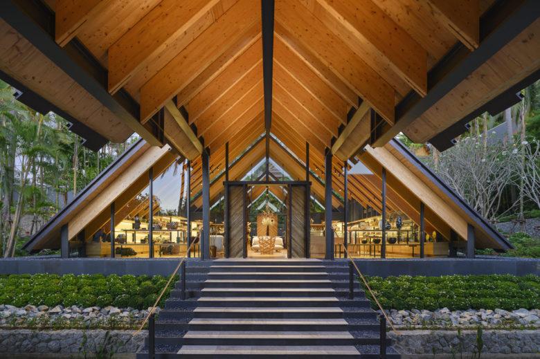 Amanpuri, Thailand - Retail Pavilion by Kengo Kuma