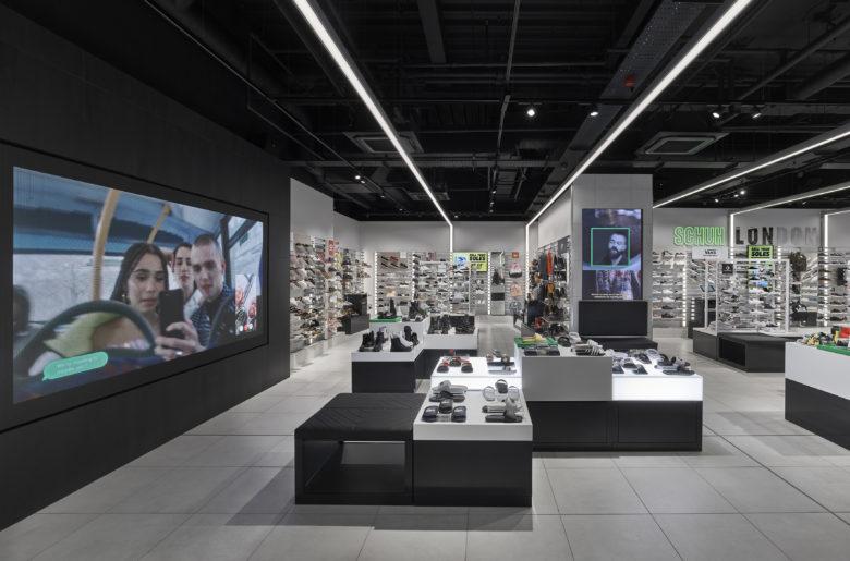 SI设计 | 英国schuh零售店设计