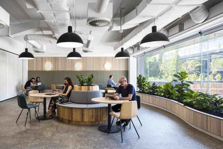 空间设计 | 美国7-11办公室设计