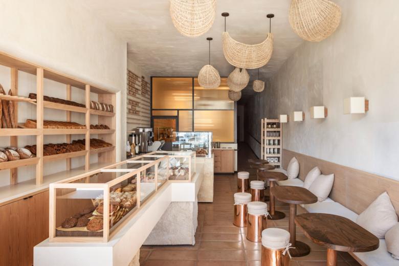 SI设计 | 洛杉矶BreadBlok面包店设计