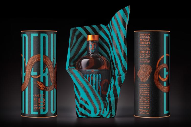 平面设计 | 爱尔兰Erebus威士忌酒包装设计
