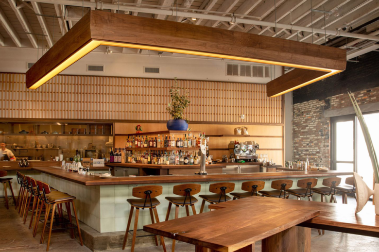 店面设计 | 布鲁克林日本餐厅设计