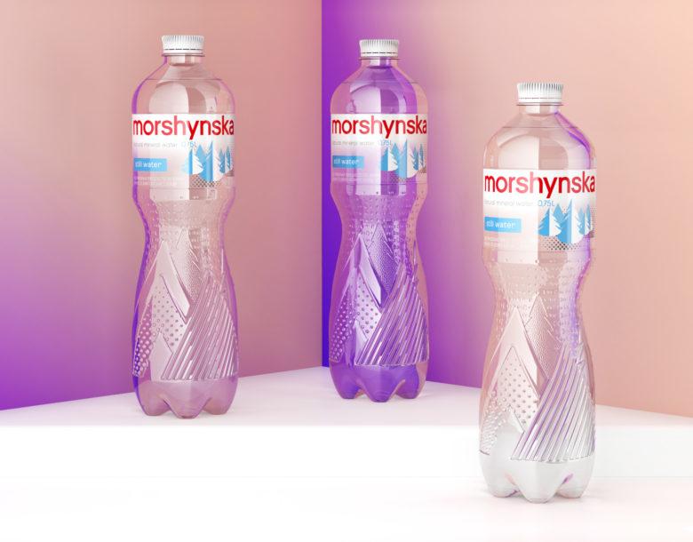 平面设计 | 乌克兰Morshynska包装设计