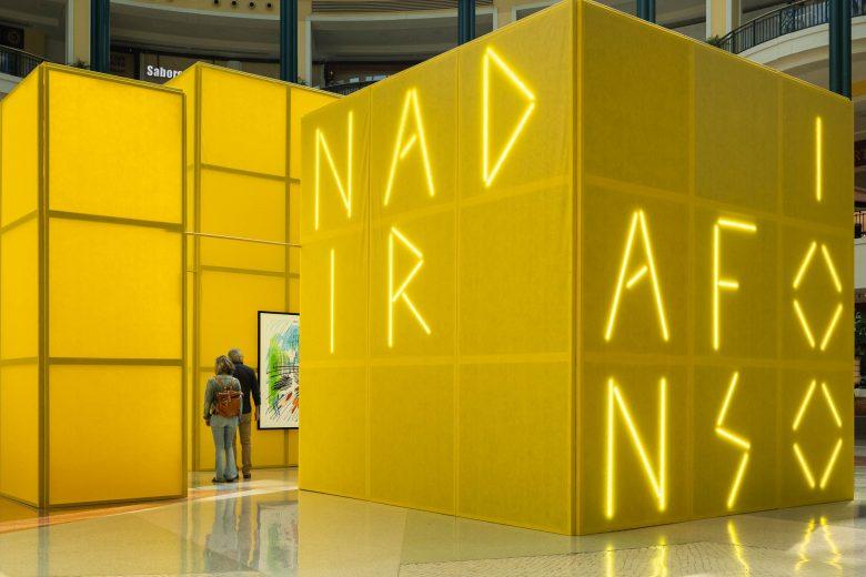100 anos Nadir Afonso no Colombo com arquitectura Diogo Aguiar S